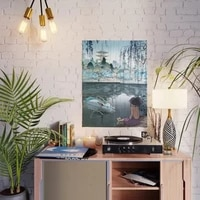 home decoration hd print haku and chihiro wall artwork modular anime role poster pictures modern canvas painting for living room