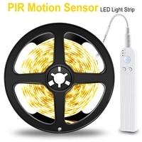 motion sensor pir led under cabinet light kitchen battery operated led closet lights dimmable for wardrobe bathroom lighting