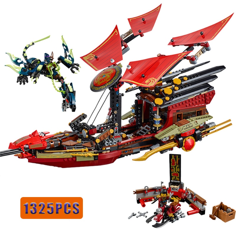 lepin 16010 2430pcs lord of the rings tower of orthanc figures building blocks bricks set kids toy model kits compatible 10237 Ninja Final Flight of Destiny's Bounty Ship Model Building Blocks Set with Figures Compatible Ninjagoed Bricks DIY Toys for Kids