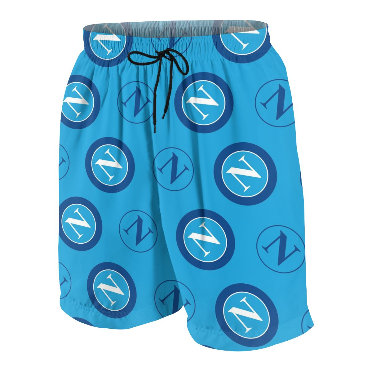 SSC Napoli Summer Young Shorts Cotton For Beach Short Sports Pants 3D Print Elastic Fashion Wild Leisure