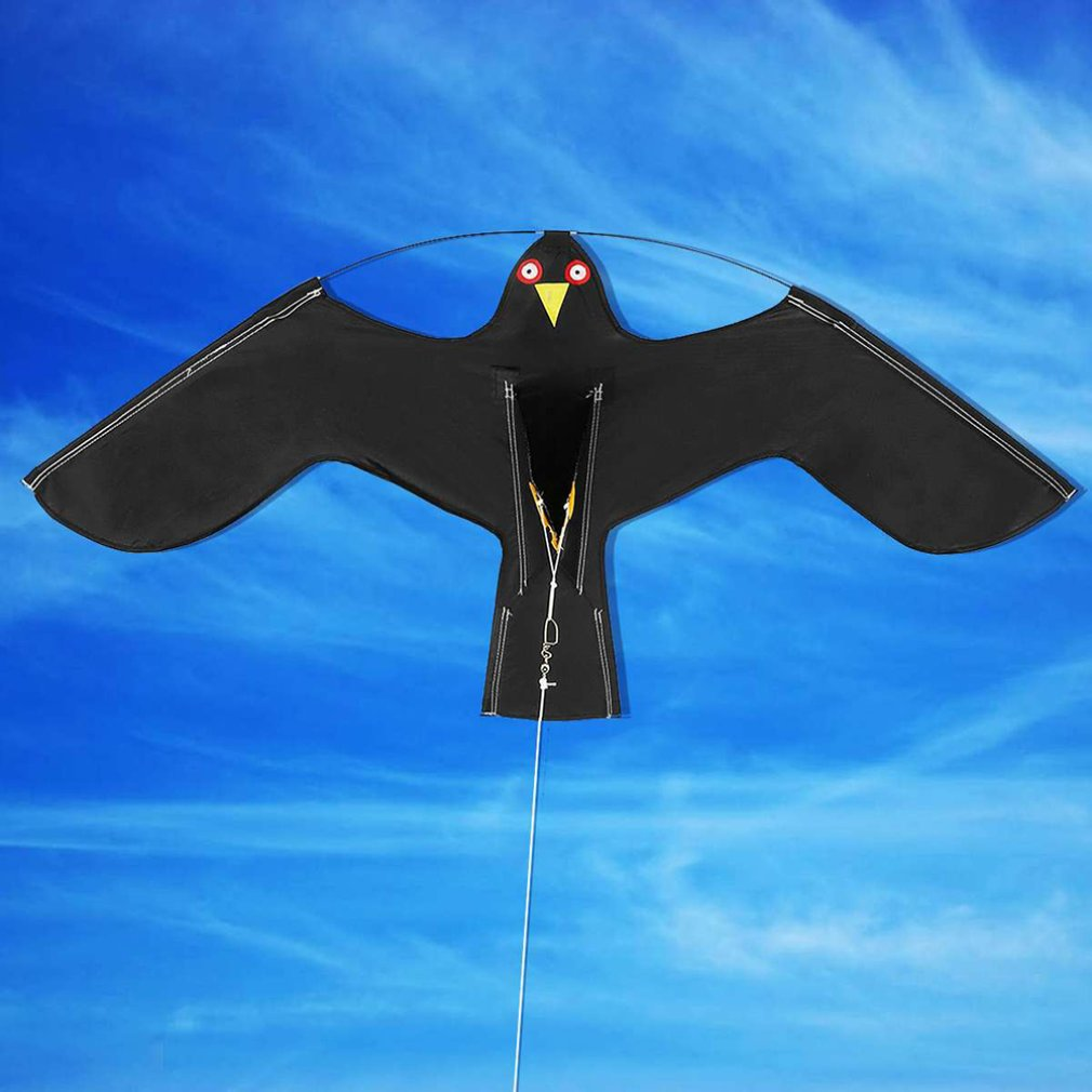 Фото - 1,2 м высококачественный ветерок легко лететь реалистичный птица сафари поле воздушный змей птица потрясающий птица воздушный змей пугать п... птица