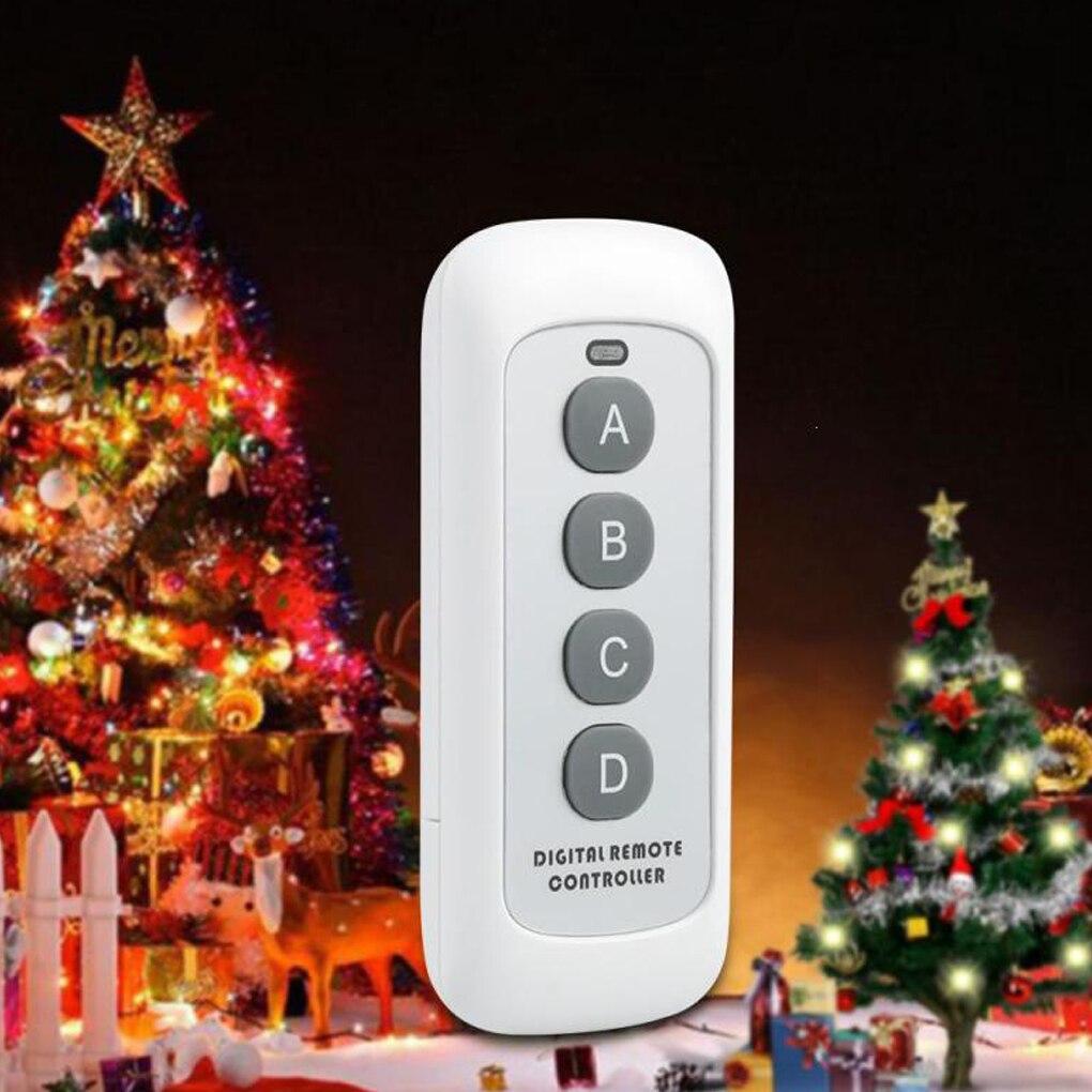 433MHz 4 Button EV1527 Code Remote Control Switch RF Transmitter Wireless Key for Smart Home Garage Door Opener