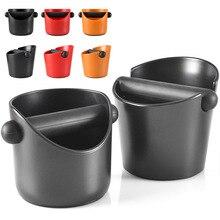 Kaffee Knock Box, Schock-Saugfähigen Espresso Klopfen Box für Barista Kaffee Schleifen, anti-slip Espresso Dump Bin Schleifen Abfall Bin