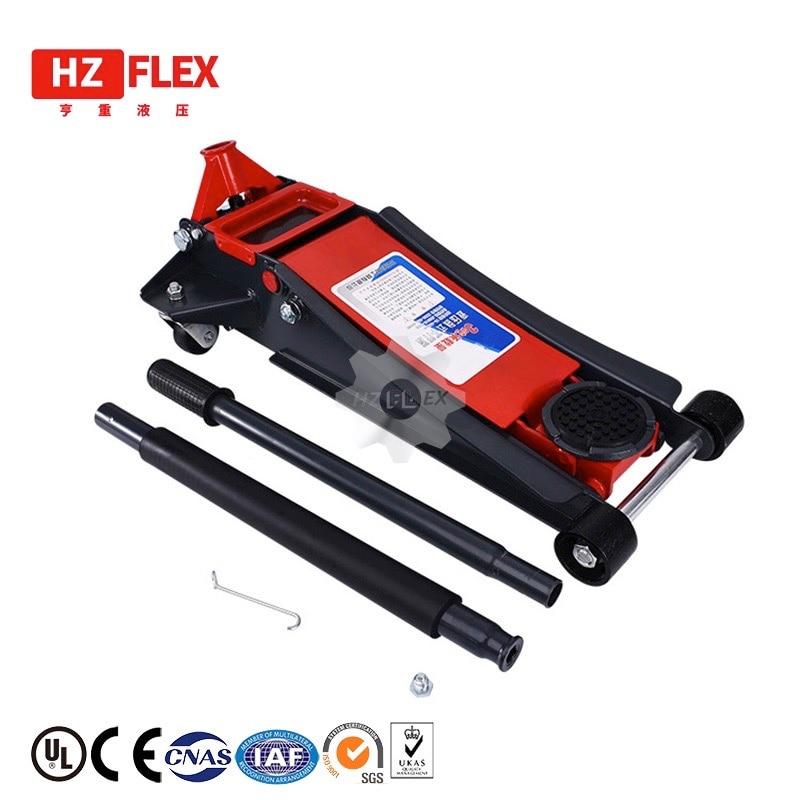 3.5T super low post 2-pump Car sedan hydraulic floor lifting jack wheel stand auto repairing tire tyre support