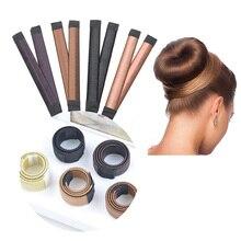 2021 nuova parrucca ciambella fascia accessori per capelli da donna ragazze Magic Hair Bun Tools Maker Bud fascia per capelli piatto francese Twist DIY Hairsty