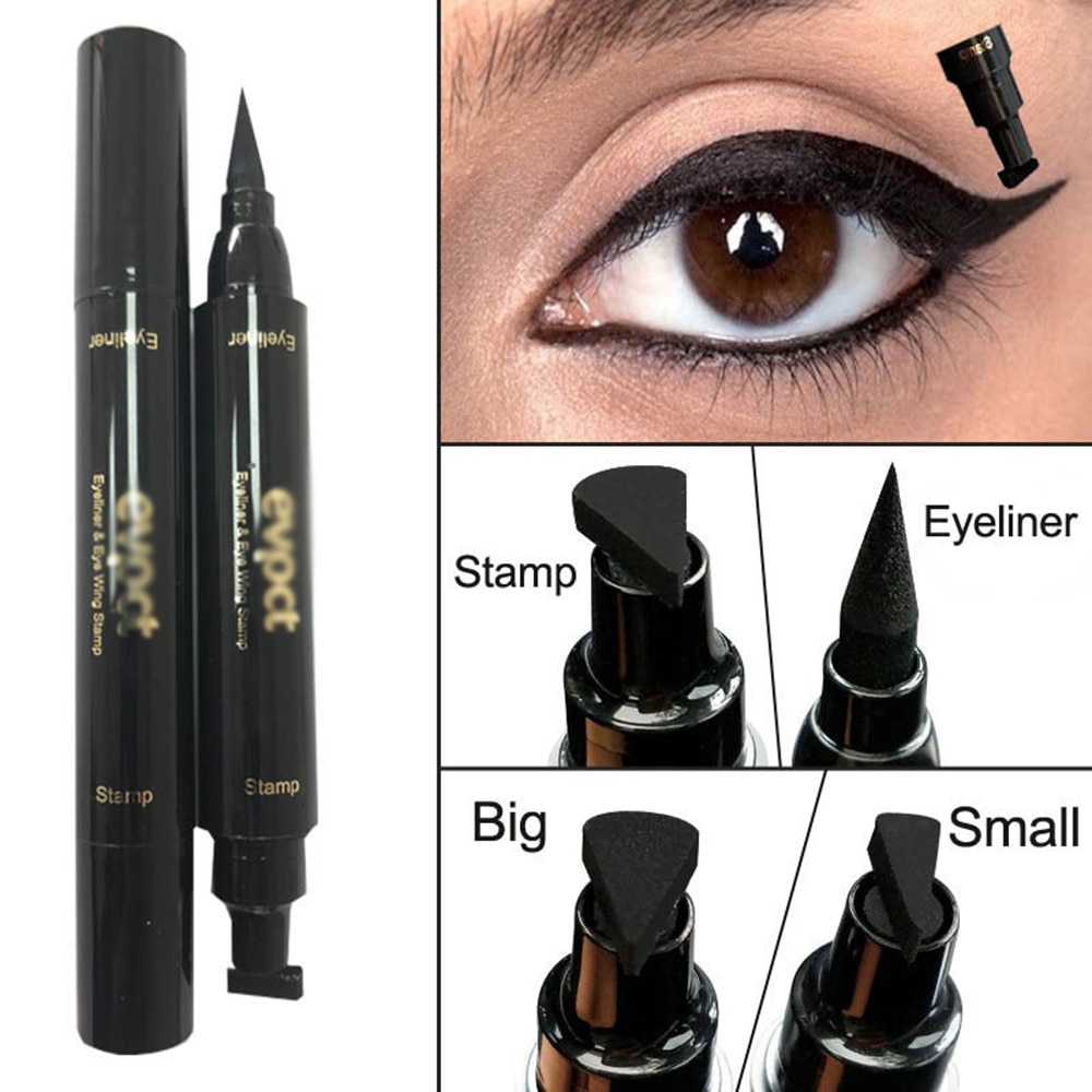 Black Liquid Eyeliner Makeup Signet Eye Pencil Lasting Waterproof Cosmetics Suitable For Novices To Use Dropship
