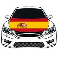 leica spain automobile body flag hood national hood banner spain car body banner