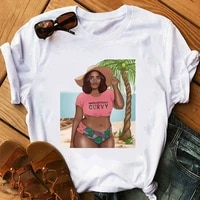 kpop black girls tshirt african americans t shirt graphic t shirts tees women clothing 90s aesthetic clothes summer top tops