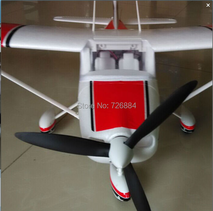 RC Plane toy Cessna 182 1410mm wingspan 6ch with Flaps Led Light EPO KIT Airframe only without electronics) enlarge
