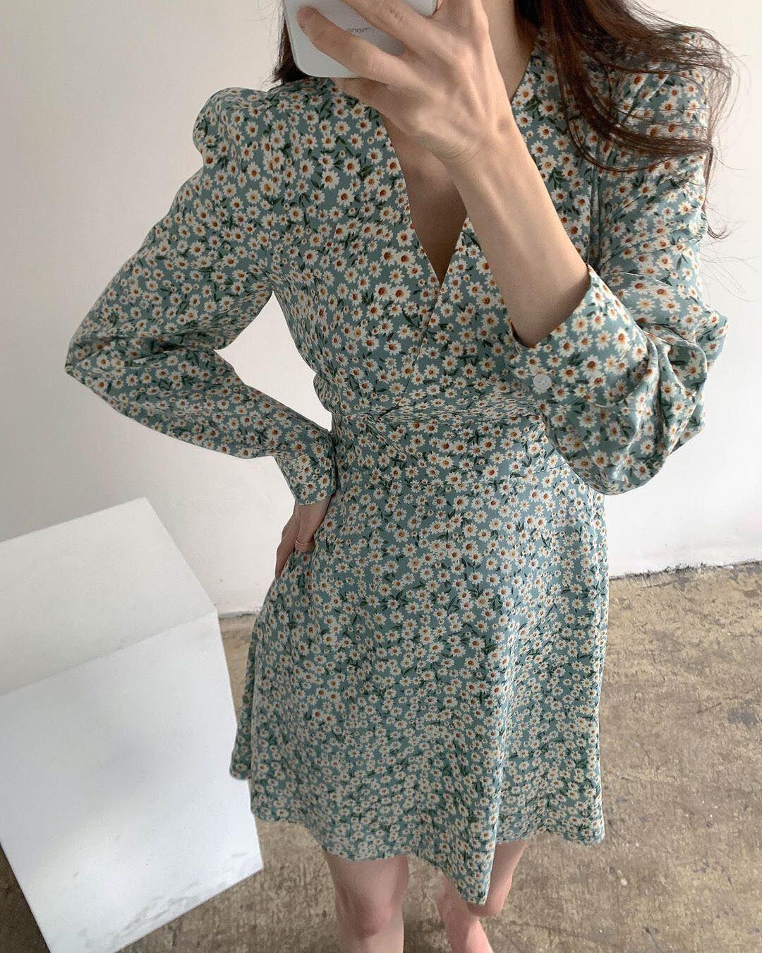 Платье женское с цветочным принтом, винтажное вечернее пляжное платье оверсайз с длинным рукавом, черный халат для выпускного вечера, лето 2021 | Женская одежда | АлиЭкспресс