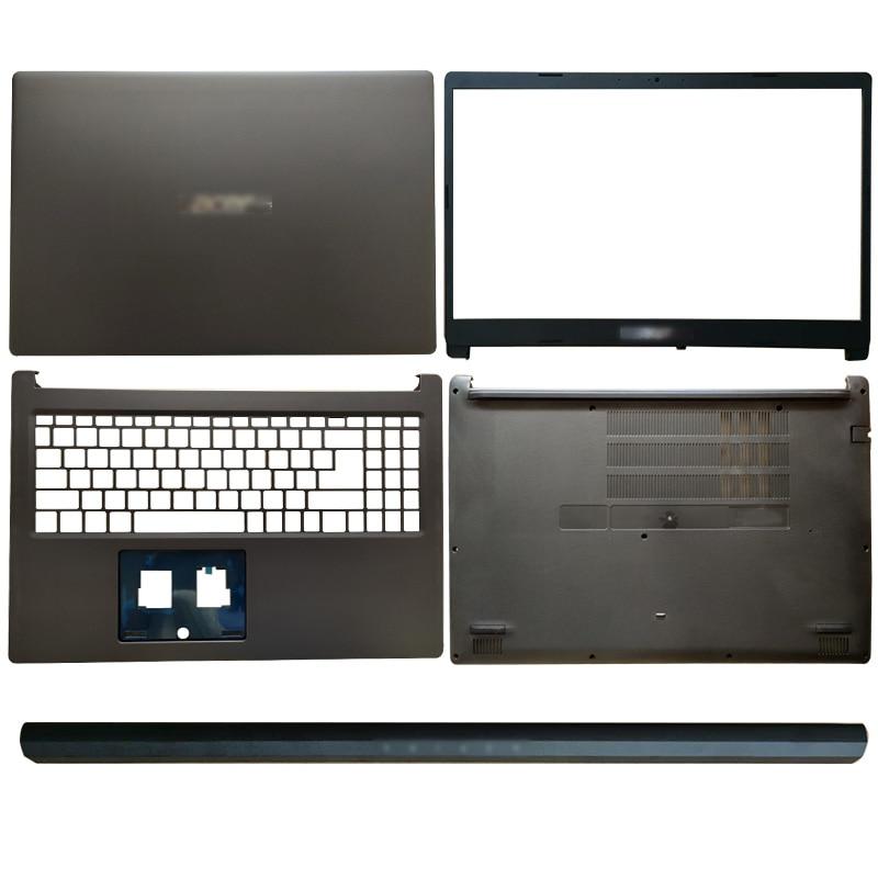 Para acer aspire 3 A315-22 A315-22G notebook portátil caso lcd capa traseira/moldura dianteira/dobradiças capa/palmrest/caso inferior