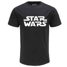 100% хлопок высокое качество футболка Звездные войны с буквенным принтом модная мужская футболка уличная carhartt рубашка мужские Забавные футболки