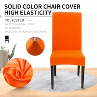 meijuner 12468pcs solid color chair covers spandex stretch protection chair slipcovers for dining room kitchen wedding
