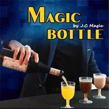 Bouteille magique tours de magie Pure trois couleurs liquide bouteille magique tasse accroche dans lair magicien scène accessoires Gimmick Illusions