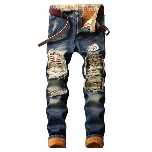 NEW Designer Fashion Streetwear Jeans 4