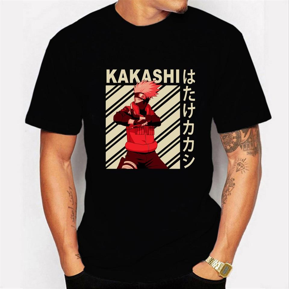 Naruto camisa de t masculina unisex legal streetwear camiseta de algodão anime japonês verão camiseta hip hop camiseta superior masculino plus size