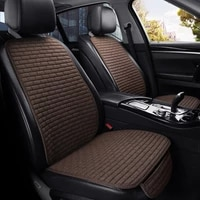 car seat cover frontrear flax seat protect cushion automobile seat cushion protector pad car cover mat protect