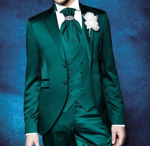 ANNIEBRITNEY لامعة الدعاوى الرجال 2019 الزفاف حزب حفلة موسيقية عشاء الرسمي العريس سهرة مخصص بحيرة الأزرق صالح سليم سترة سترة بانت 3 قطعة