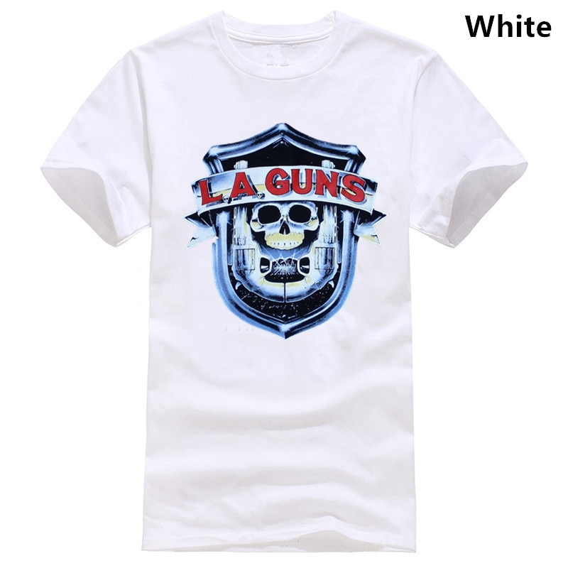 LA armas-Los Ángeles Las armas NO misericordia TOUR 1988 METAL ROCK camiseta (S-XXL)