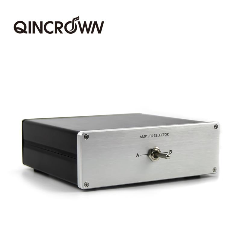 Amplificador/alto-falante 1 a 2 / 2 a 1 entrada 2 salida/2 entrada...