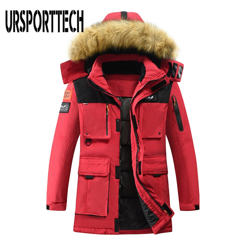 Новинка 2020 года, зимняя куртка-пуховик на 90% утином пуху, Мужская парка, водонепроницаемая ветровка, Мужская одежда, зимняя верхняя одежда, п...