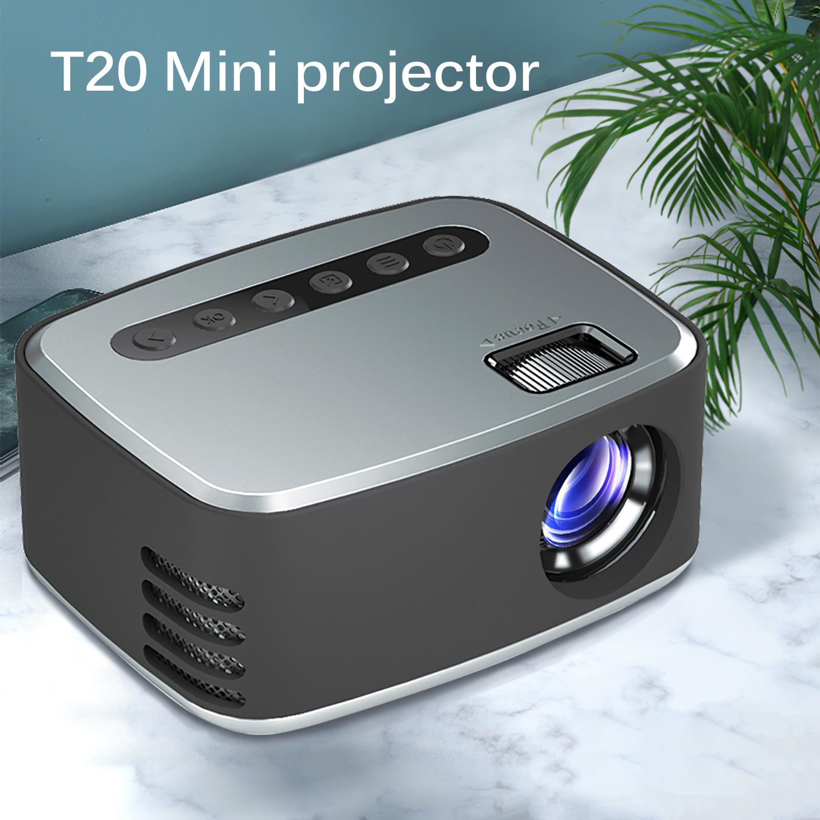 HD جهاز عرض صغير الأصلية 1080x1920P LED ل الروبوت WiFi البروجيكتور فيديو هوم سينما 3D HDMI-متوافق فيلم لعبة Proyector