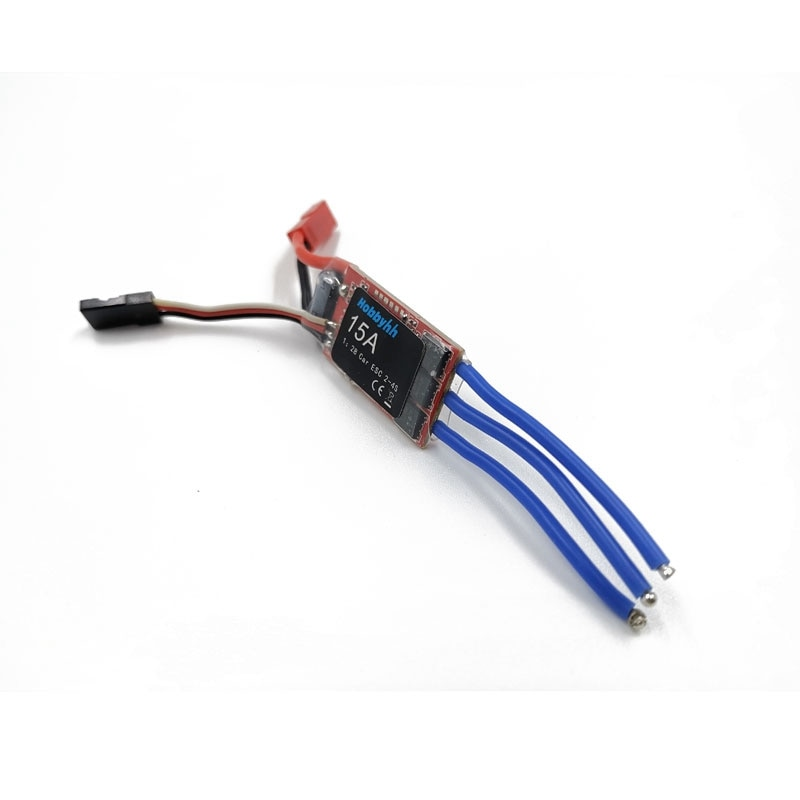 RC Car 15A 2S 5V High Speed Controller Brushless ESC Is Suitable for RC Car 1:28/1:24 enlarge