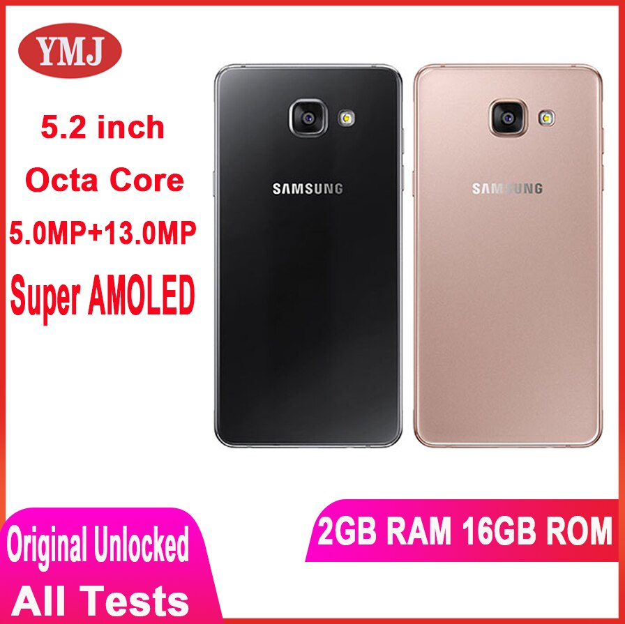 original-unlocked-5-2-inch-2900mah-16gb-rom-smart-phone-octa-core-13-0mp-camera-super-amoled-cellphone-samsung-galaxy-a510f