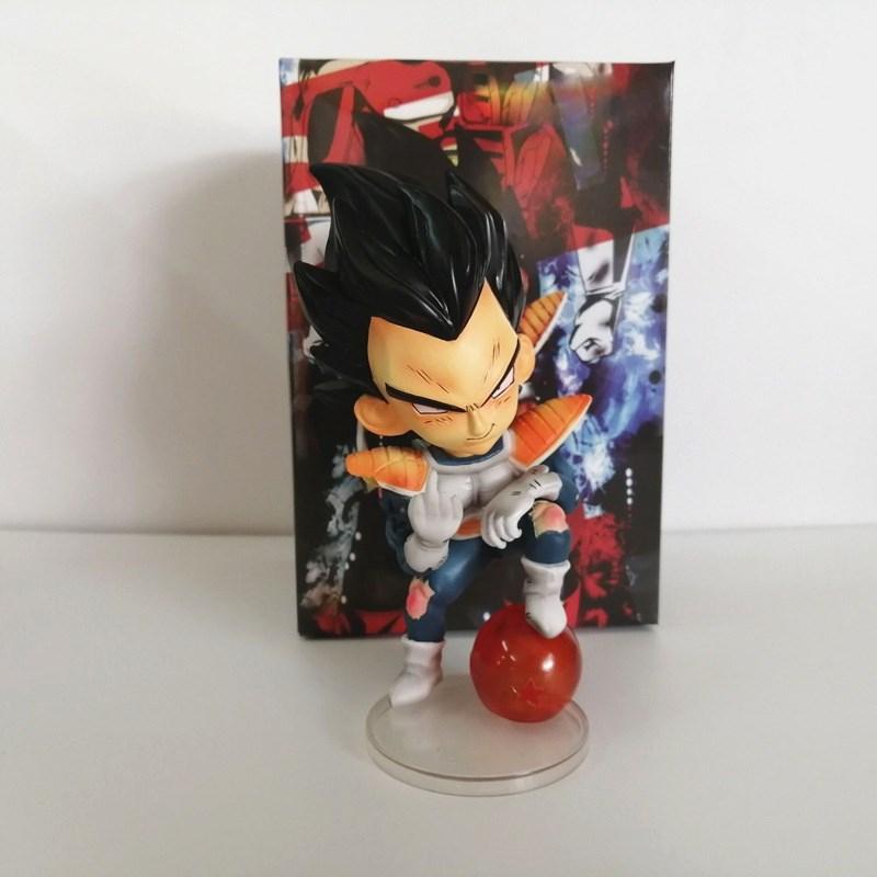 Dragon Ball Z Anime Figures Vegeta Cute Toys PVC Model Action Figma Collection DBZ Goku Brinquedos Xmas Gift Kids Doll Figurals