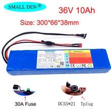 36V 18650 batterie au lithium 10S3P 42V pour scooters, vélos électriques, intégré 30A BMS et fusible 250W-600W