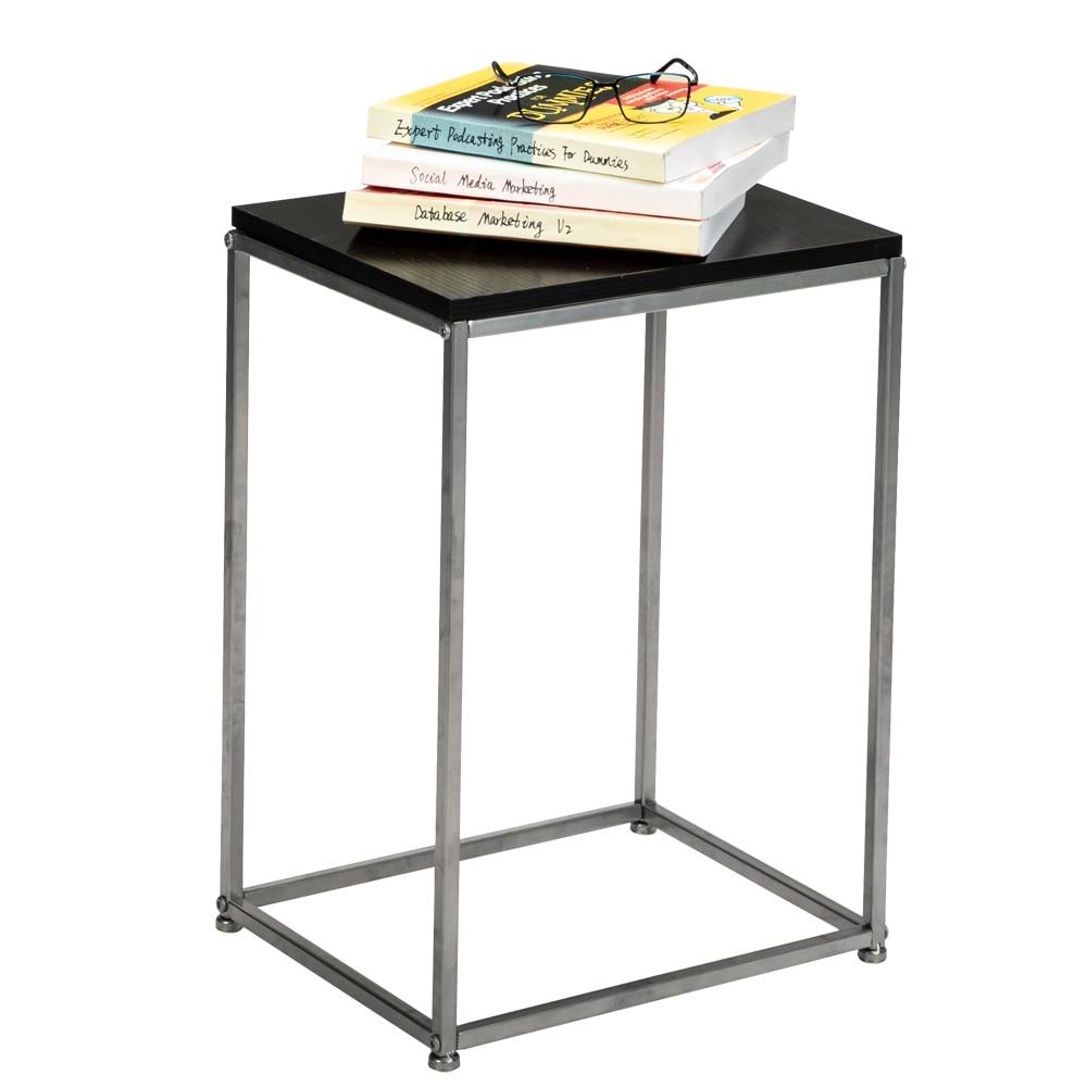 Mesa de té para oficina, mesa de centro, repisa para revistas, pequeña...