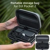 for dji pocket 2 mini carrying case portable storage bag handbag shock proof box set handheld gimbal camera accessories