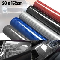 50152cm car styling diy high glossy 6d carbon fiber vinyl wrap film motorcyle automobiles car sticker and decals accessorise