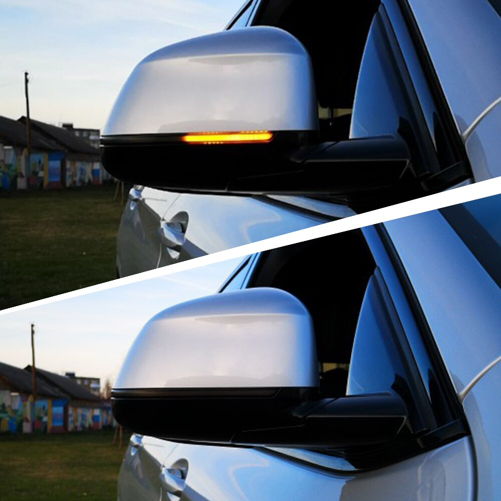 Para 2019 2020 BMW X3 X4 X5 X6 X7 G01 G02 G05 G06 G07 Dinâmica LED Turn Signal Blinker Indicador Espelho Lateral Luz Repetidor