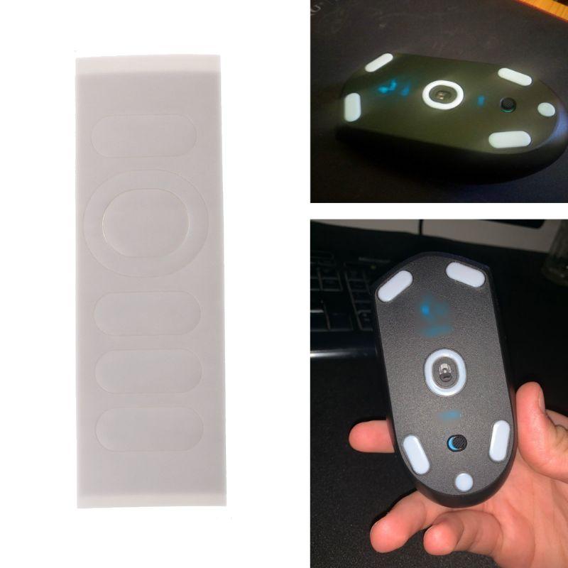 1 takım 0.6mm beyaz eğri kenar Mouse ayaklar fare paten Logitech G304 G305 fare C26