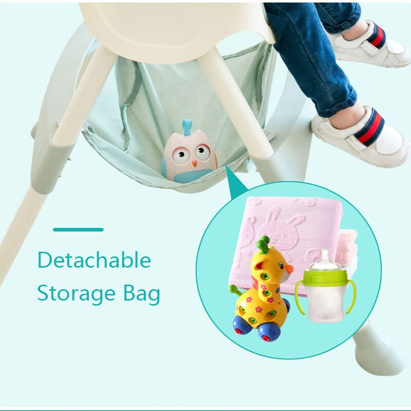 Children Dining Chair PP Material Kids Adjustable Portable Seat Multi-functional Baby Eating Tables and Chairs enlarge