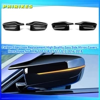 new for bmw 3 series g20 g21 g28 320d 330e 330i 340i 2019 2022 car side wing mirror cover rear view caps high quality types