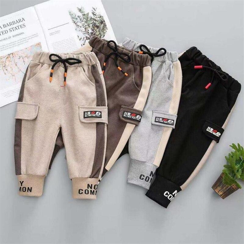 Pantalones para niños calientes 0-6 y bebés niñas pantalones de dibujos animados de moda ropa para niños pantalones largos Pantalones deportivos Primavera/otoño