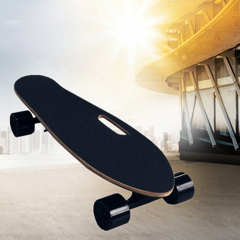 Smart adult children electric scooter Four-wheel electric longboard Remote control electric scooter