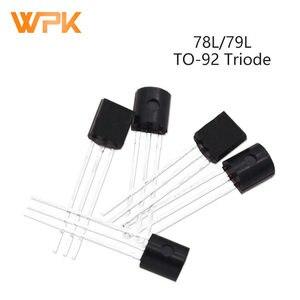 50Pcs Voltage Regulator Triodes TO-92 78L05 78L06 78L08 78L09 78L12 78L15 78L24 79L05 79L06 79L08 79L09 79L12 79L15 Transistor