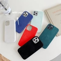 2021 new top alcantara case for phone 12 pro max xr xs x 7 8 plus 12pro se iphone 11 cases for gentleman can be customized logo