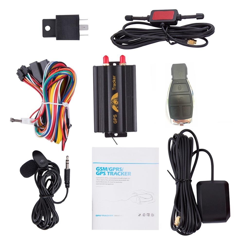 GPS 3G 2G TK103B 103A GSM/GPRS/GPS автомобильный GPS-трекер устройство слежения с дистанционным управлением Противоугонная Автомобильная сигнализация