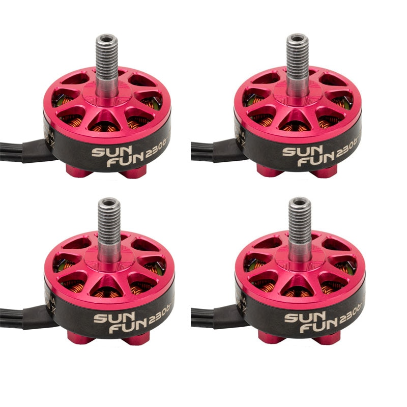 Clearance sale 4pcs/Lot DYS SunFun Series SF2306 2500KV 2800KV 3-6S Brushless Motor for RC Models Multicopter Spare Part Accs enlarge