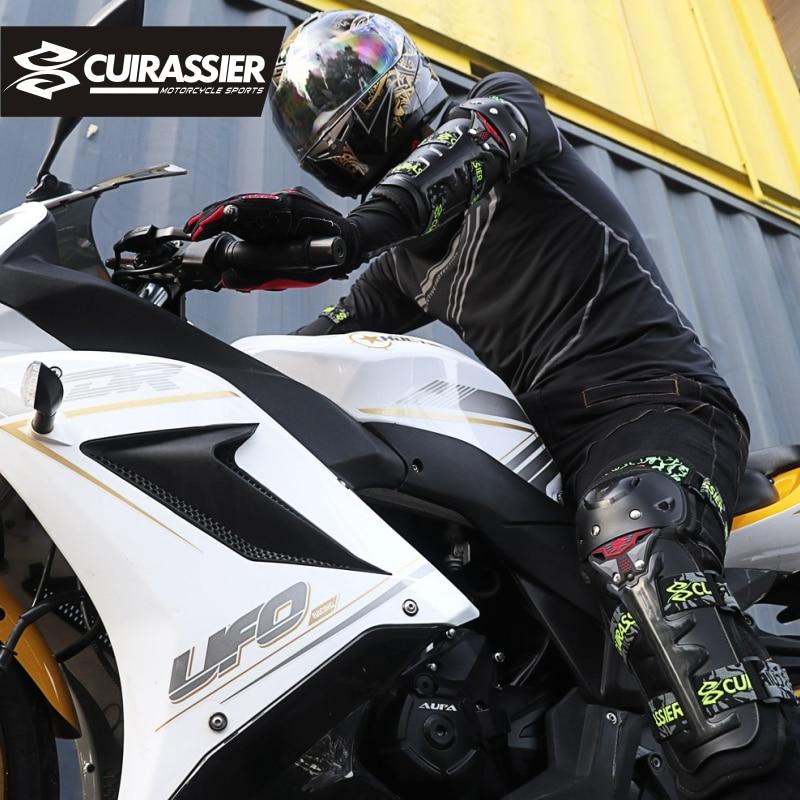Motorcycle Protective Kneepad MX Off-Road Knee Pads Protector Racing Dirt Bike Guards Motocross Protection Cuirassier Elbowpad enlarge