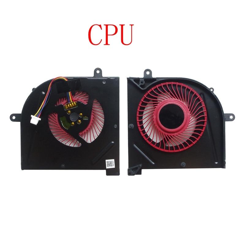 جديدة وحدة المعالجة المركزية مروحة التبريد ل MSI GS73 GS73VR MS-17B1 GS63VR GS63 الشبح برو cpu BS5005HS-U2F1 GPU BS5005HS-U2L1 برودة