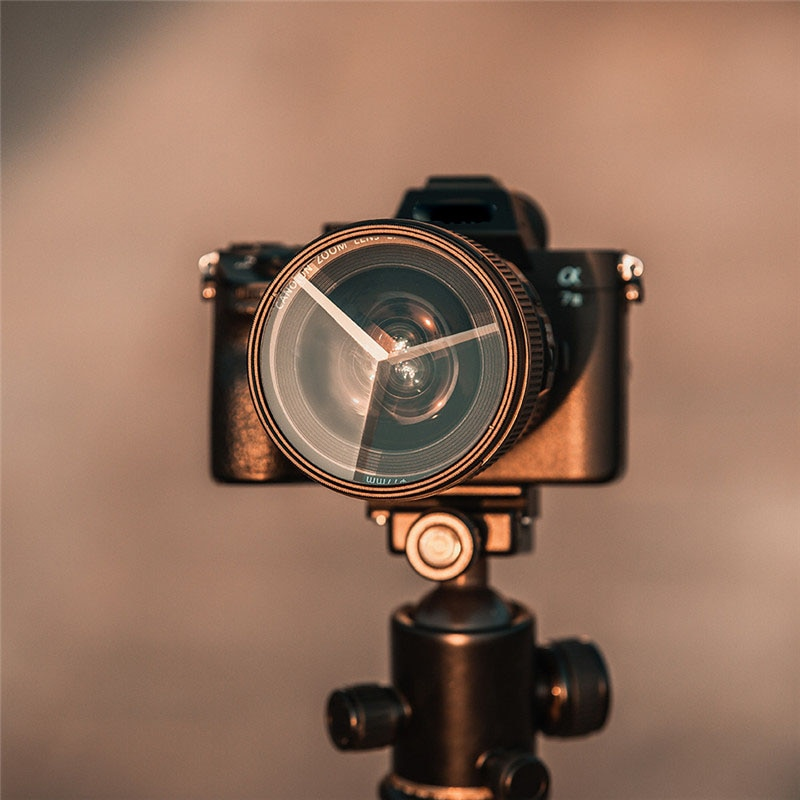 كاميرا زجاج عدسة 77 مللي متر مشكال الموشور تصفية التصوير الأمامية طمس فيلم والتلفزيون الدعائم Slr اكسسوارات
