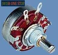 WH118-1A WTH118 2W potentiomètre en carbone synthétique 150K 220K 330K 470K 560K