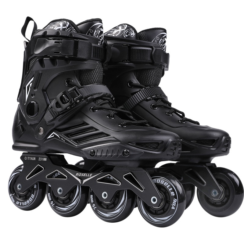 RS6 Roller Skates Inline Speed Skate Shoes Hockey Unisex Roller Skates Skates Inline Professional SEBA Skating Shoes