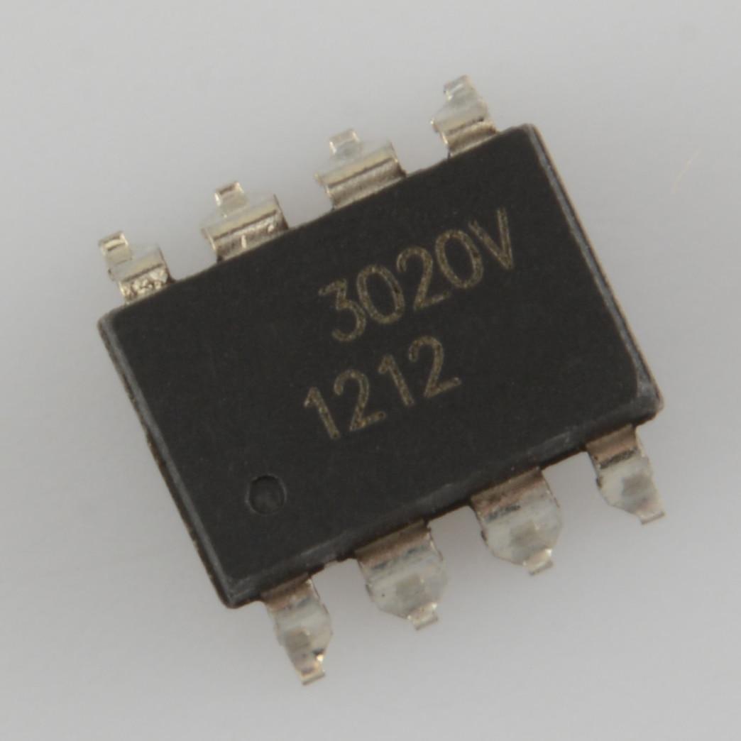 Remendo hcpl-3020 sop8 a3020v acoplamento fotoelétrico