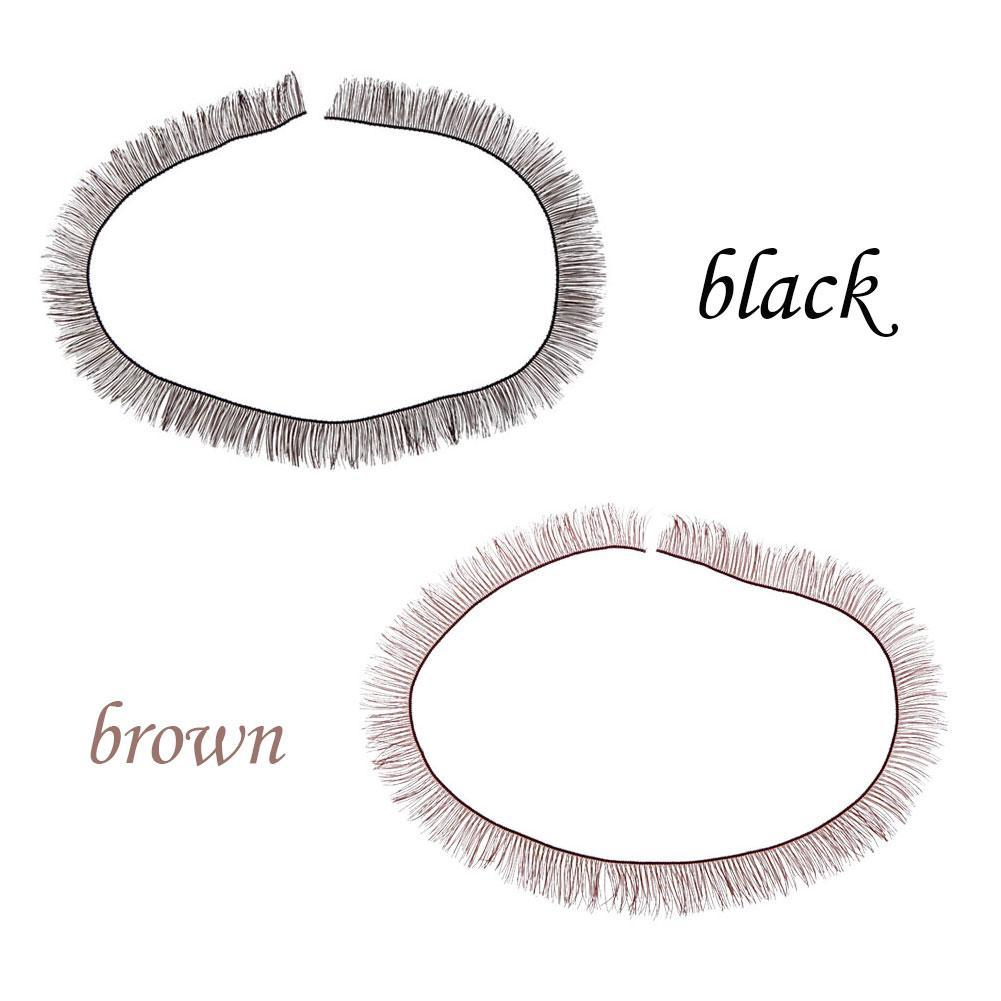 5pcs/Lot 8mm Width *20cm Length Eyelashes For 1/3 Baby Dolls Doll Strips Accessory Up Tool Eye For D